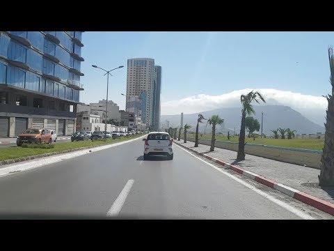 Driving in oran Algérie 21 06 2018 وهران الجزائر
