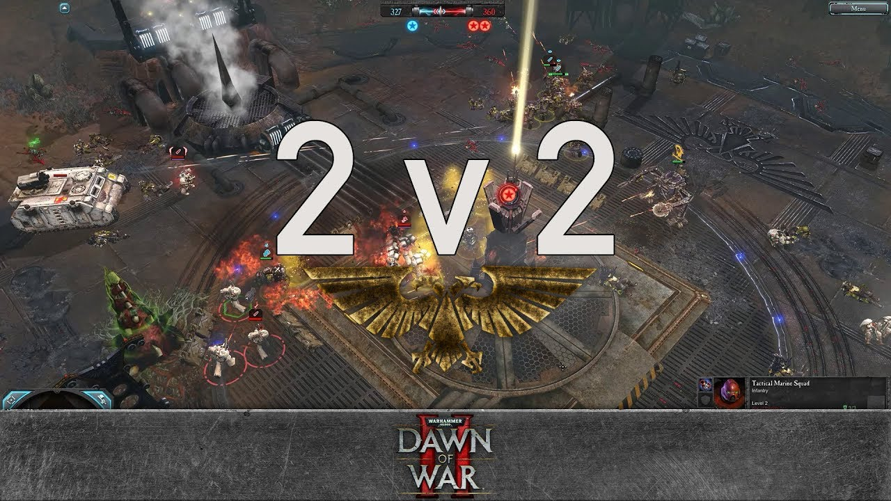 Dawn of war 2 retribution 2v2 the king of pythons critical32 vs ace of swords iv bestn00b