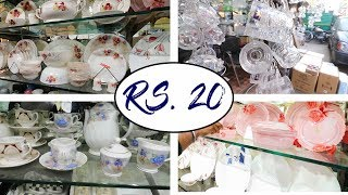 Crockery Wholesale Market Near Sadar Market Delhi   Azad Market Delhi