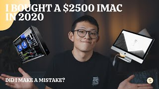 I just bought my $2500 27-inch 5K iMac, Did I Make a Mistake? iMac vs. PC for Video Editing review