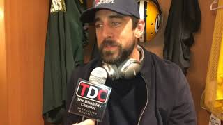 Dunkin' Donuts or Starbucks what is Aaron Rodgers drink of choice?