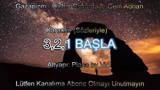Gazapizm ft. Cem Adrian - Kalbim Çukurda Karaoke Lyrics Video + Sözleriyle (Çukur Dizi Müziği)