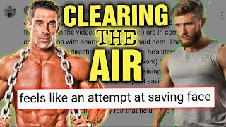 Jeff Nippard || Clearing The Air || Saving Face - DO WE AGREE with RPE???