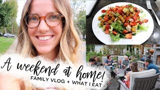 A Weekend at Home in the Airstream | What I Eat + Family Vlog