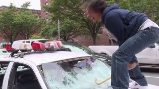 Cop Car Smash | The Eric Andre Show | Adult Swim