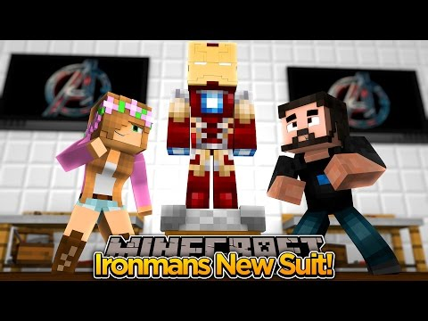 Minecraft Adventure - LITTLE KELLY GETS IRONMAN A NEW SUIT!!