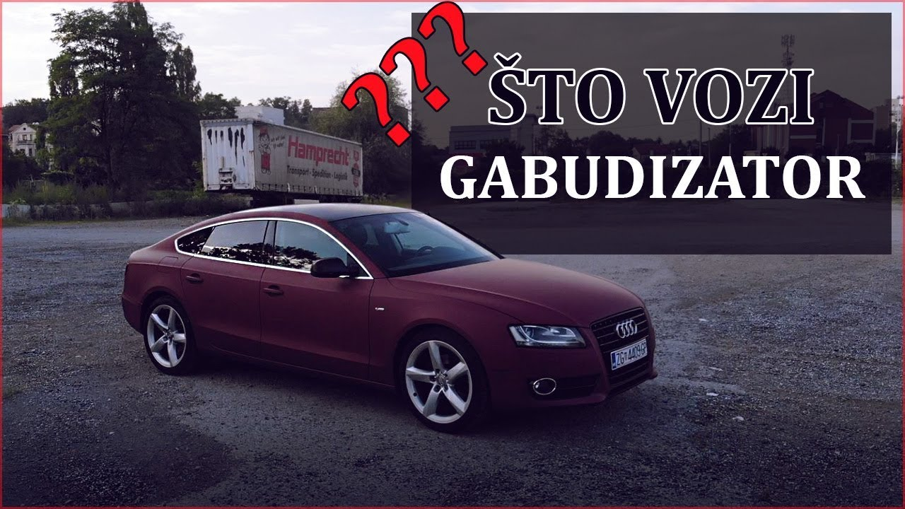 GABUDIZATOROV AUDI A5 (2010. 2.0TDI) | MATT CHERRY FOLIJA DA/NE?! - The Engine #15
