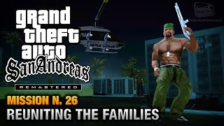 GTA San Andreas Remastered - Mission #26 - Reuniting the Families (Xbox 360 / PS3)