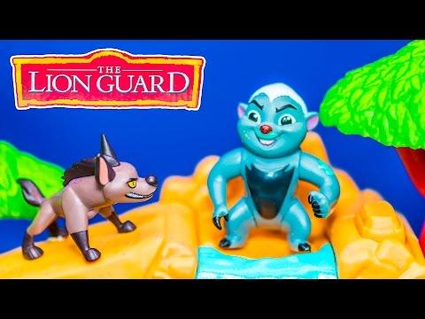 LION GUARD Disney Bunga Challenge Hyenas Lion Guard Video Toys Parody