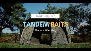 Namiot karpiowy Tandem Baits Phantom Ultra Bivvy / prezentacja