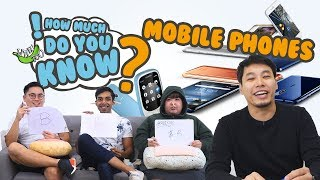 how much do you know mobile phones