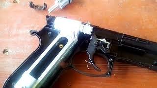 Розбирання, складання, ремонт пневматичного пістолета Stalker своїми руками.