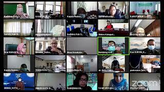 Rapat Strategi Pelaksanaan Vaksinasi COVID-19 bagi Lansia dan Pelayan Publik