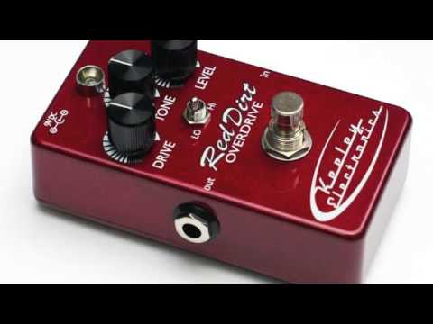 Keeley Red Dirt Overdrive Demo