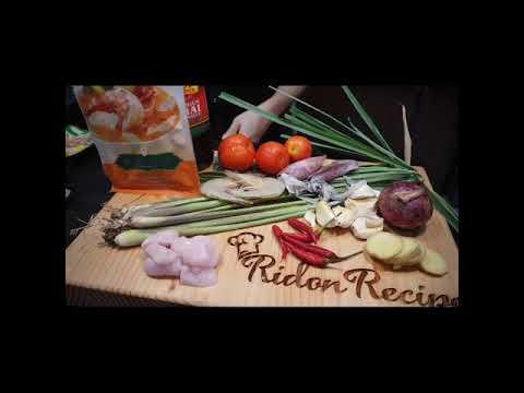 #ridonrecipes Tom Yum Soup