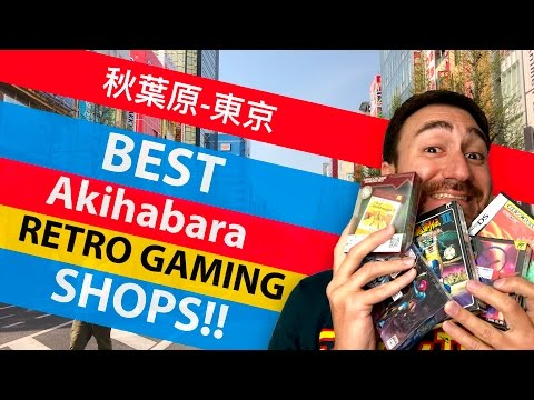 TOP 5 BEST Akihabara RETRO GAMING SHOPS! - Friends, Super Potato and more!