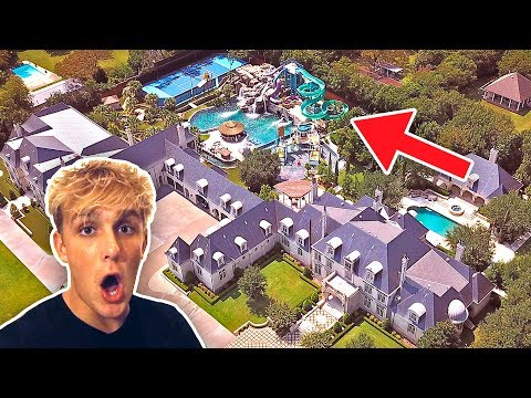 THIS HOUSE HAS A $10M DOLLAR BACKYARD WATERPARK thumbnail