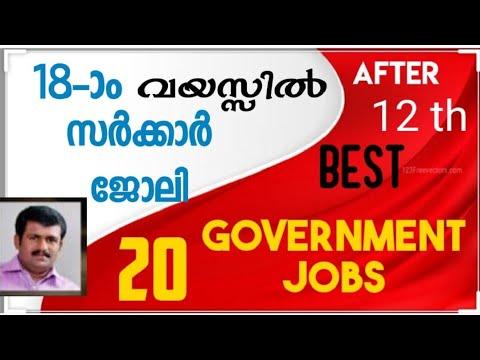 Government Jobs After Plus Two/പ്ളസ് ടൂ കഴിഞ്ഞാൽ ലഭിക്കാവുന്ന / അപേക്ഷിക്കാവുന്ന സർക്കാർ ജോലി /
