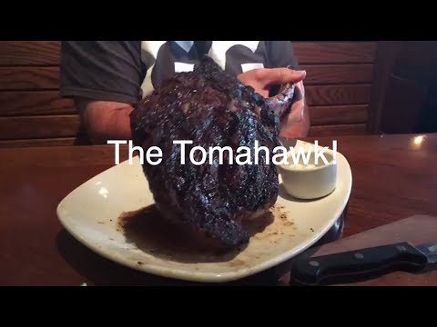 OutBack Steak House 35 oz. Tomahawk Bone-In Ribeye
