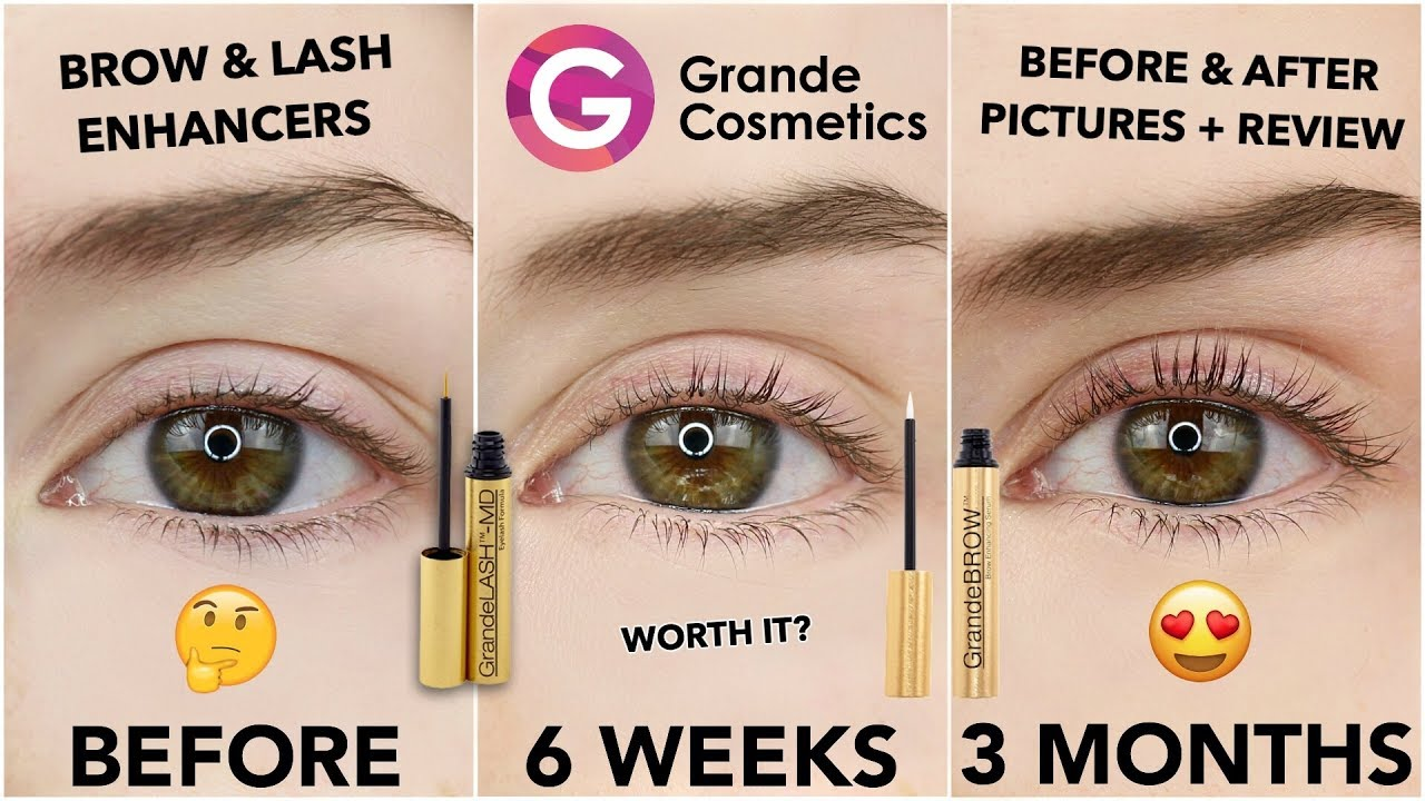 d401e52ff60 GRANDE COSMETICS LASH & BROW ENHANCING SERUM REVIEW | 3 MONTH ...
