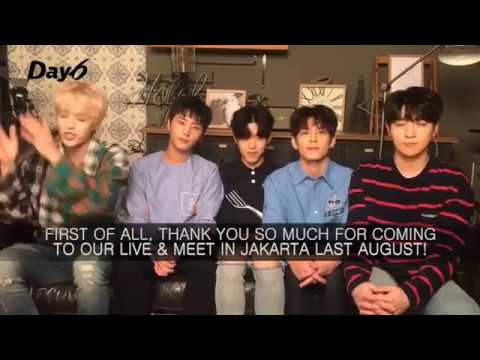Saranghaeyo Indonesia Greeting Video - DAY6