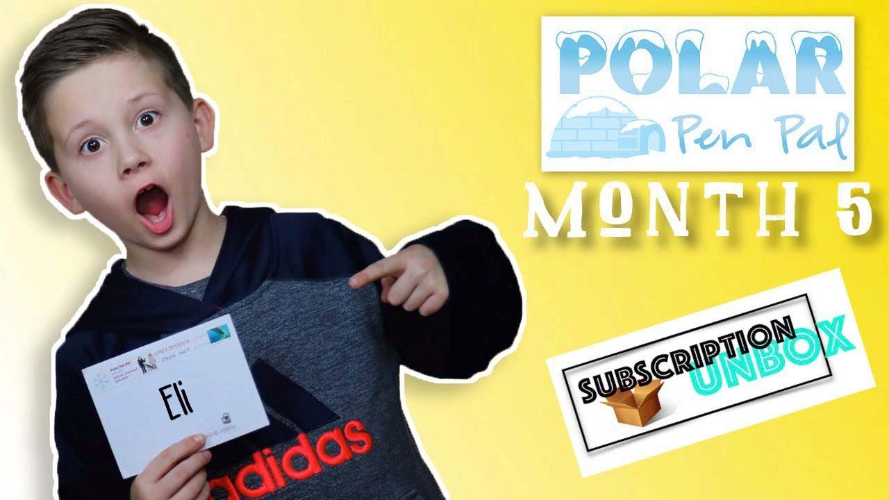 Kids Subscription - Polar Pen Pal | Month 5