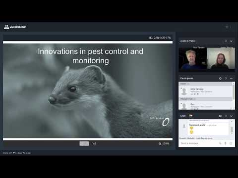 PFNZ Trust Webinar # 11: New detection devices, lures, toxins and traps