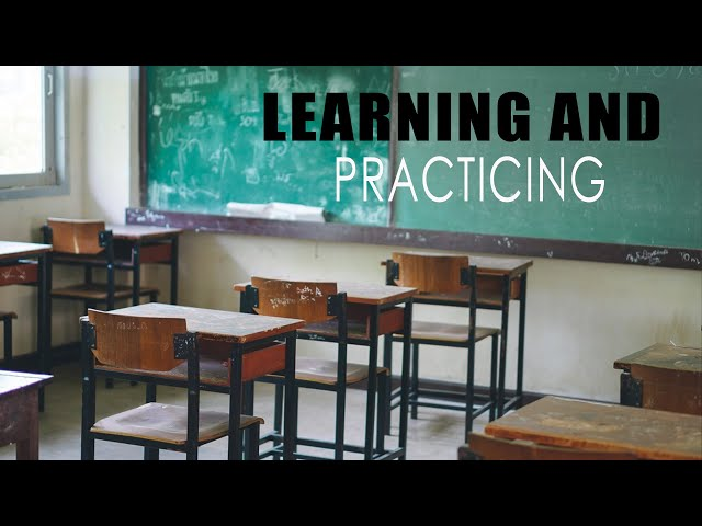 Learning & Practicing - Shaykh Thaqib Mahmood, Sacred Study