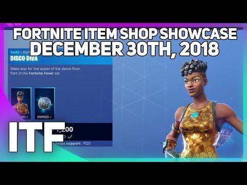 Fortnite Item Shop *NEW* DISCO DIVA SKIN + FUNK OPS BUNDLE! [December 30th, 2018]