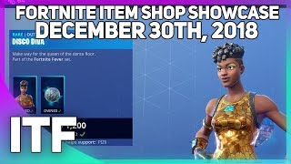 Fortnite Item Shop *NEW* DISCO DIVA SKIN + FUNK OPS BUNDLE! [December 30th, 2018]