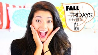 Fall Fridays!!!  Q&A + Video Schedule + MORE Thumbnail