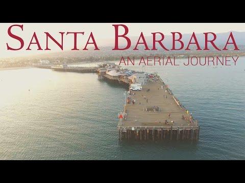 Santa Barbara: An Aerial Journey   4K Drone Movie