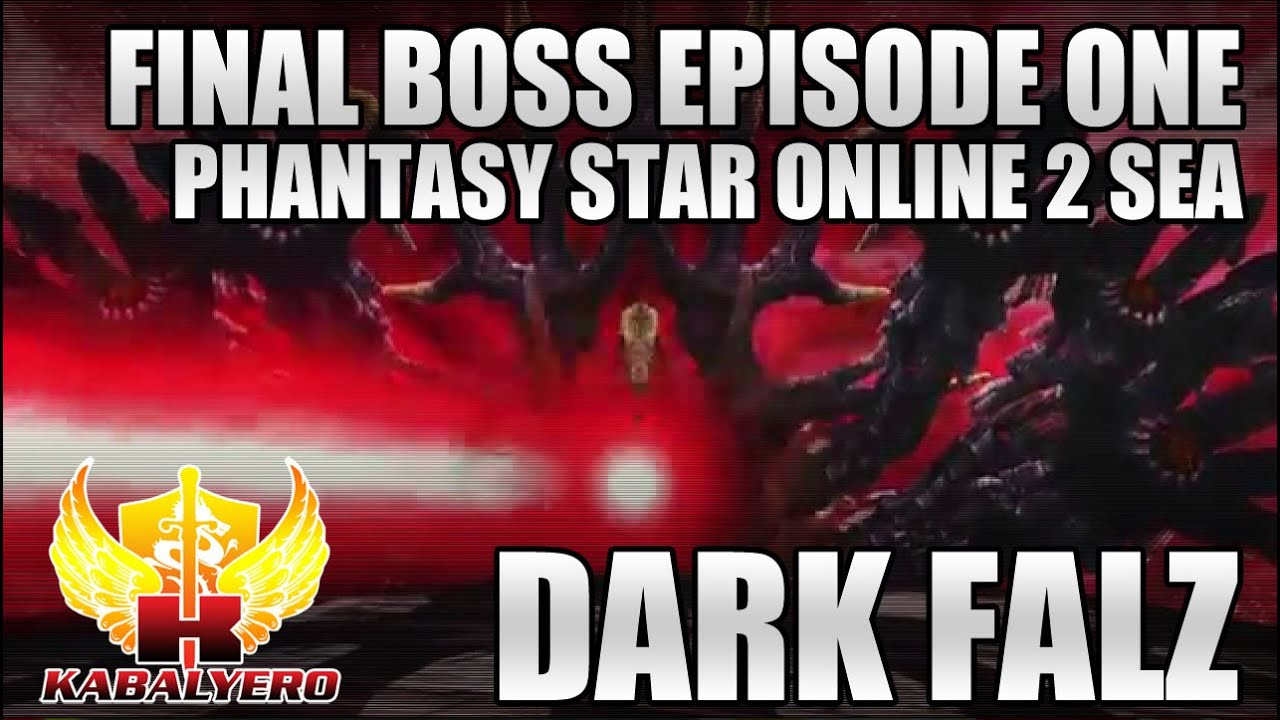 Dark Falz, Final Boss