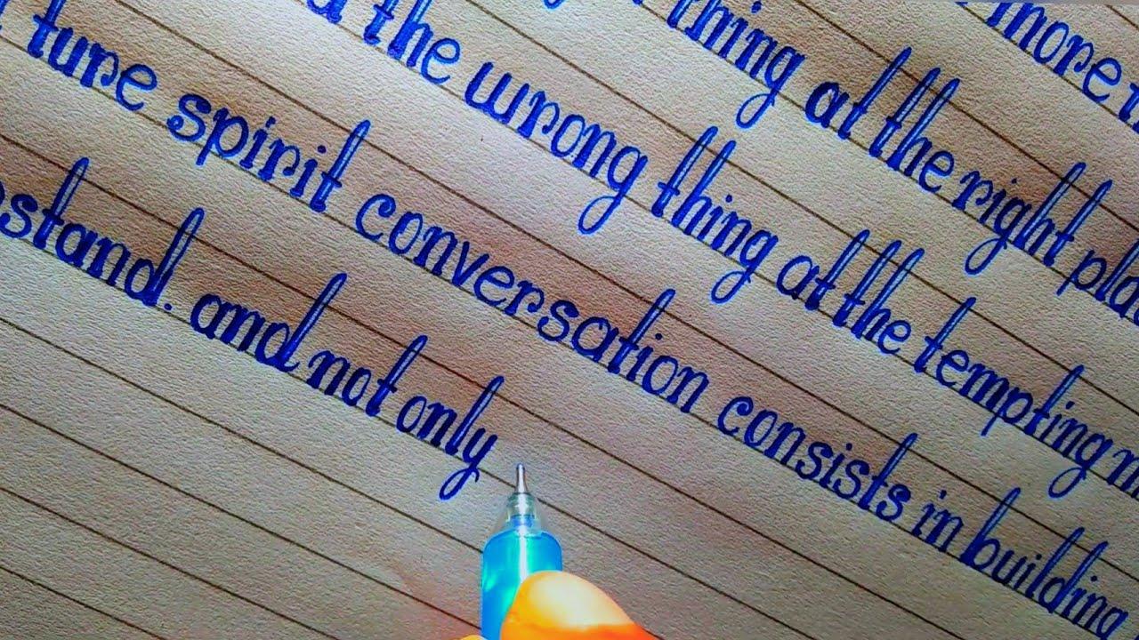 Beautiful Handwriting by ball pen || print handwriting || english handwriting || hand writing