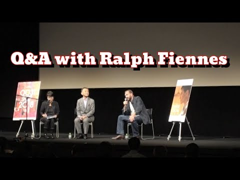 『THE WHITE CROW』Q&A With Ralph Fiennes At #TIFF 2018 #RalphFiennes