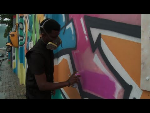 Lagos offers concrete canvas to graffiti artists