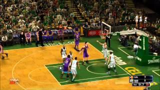 NBA 2K14 - Los Angeles Lakers vs Boston Celtics Gameplay [HD]