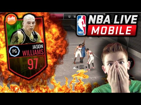 NEW CHICAGO BLACKTOP NBA LIVE MOBILE UPDATE! 97 OVERALL JASON WILLIAMS! WHY EA?!