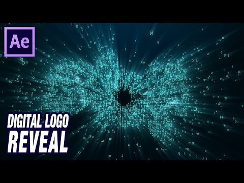 Aparición digital de logo // tutorial Trapcode Form para After Effects