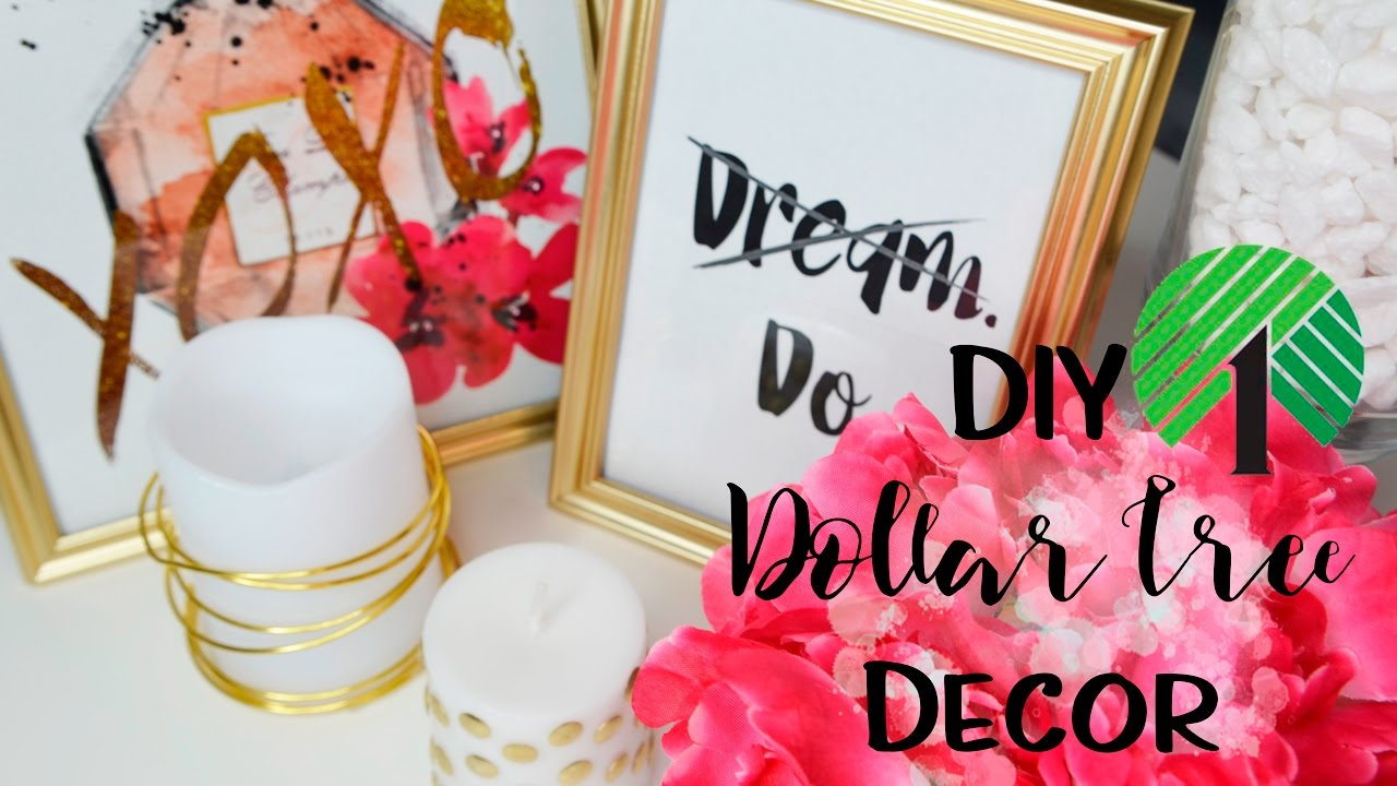 Dollar Tree DIY (Easy Room U0026 Office Decor) Under $15!