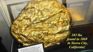 CALIFORNIA'S LARGEST GOLD NUGGET
