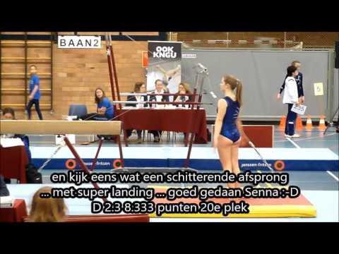 19 maart 2017 voorwedstrijd regio Brabant Oost divisie 5 junior suppl. F Senna van Geloven