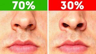 Kebanyakan Orang Tak Bisa Mengembangkan Hidung plus 40 Fakta Tubuh Lainnya