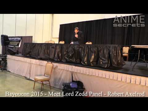 Bayoucon 2015 - Meet Lord Zedd Panel with Robert Axelrod