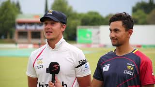 4 Day Franchise Series  - Lions vs Warriors - SA Record 7th Wicket Partnership