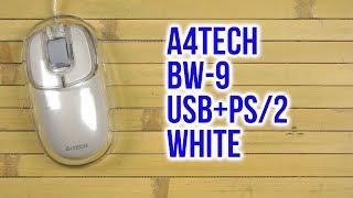 Розпакування A4Tech BW-9 USB+PS/2 White