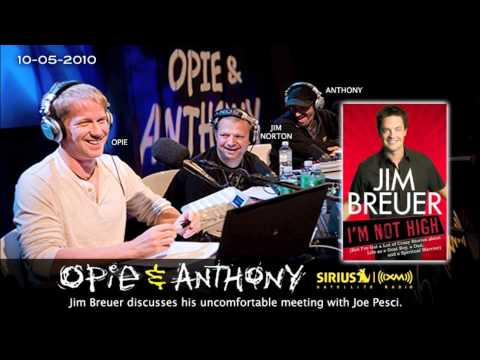 Jim Breuer's discusses his uncomfortable meeting with Joe Pesci on Opie and Anthony