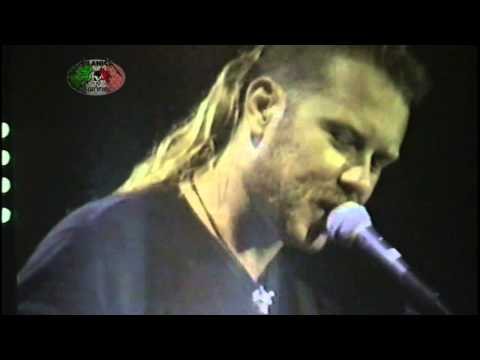 Metallica funny imitations of other bands donington 1995