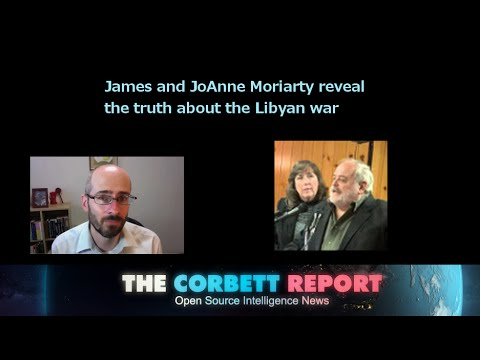 James and JoAnne Moriarty reveal the truth about the Libyan War