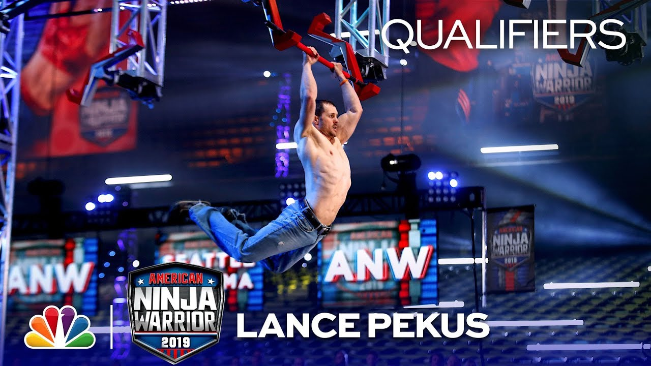 Download Lance Pekus Beats the Mega Wall - American Ninja Warrior Sea/Tac Qualifiers 2019